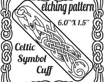 Digital Etching Celtic Cuff Download -DT-F-CEL