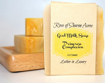Primrose Complexion Bar from Rose of Sharon Acres