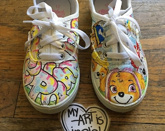 My Art Is Indie Customized Kids Shoes