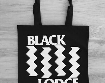 Black Lodge : TP / BF Tote Bag