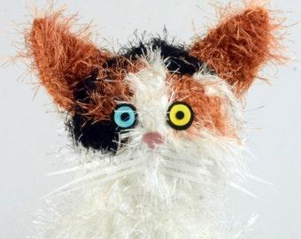 pet portrait, custom crocheted cat, custom stuffed animal, personalized pet gift, pet memorial