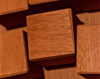 Mahogany Blocks - 12 Wood Toys