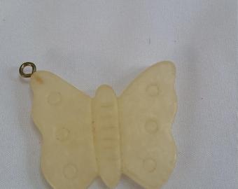 Vintage Liz Claiborne Butterfly Pendant