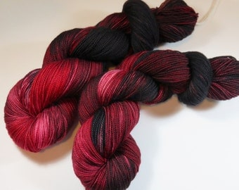 Hand Painted 2-Ply Superwash Merino and Nylon Sock/Fingering -- Game of Thrones -- Flayed Sheep
