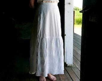 "Edwardian Petticoat 26"" 30"" Waist"