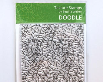"Texture Stamp ""Doodle"" by Bettina Welker"
