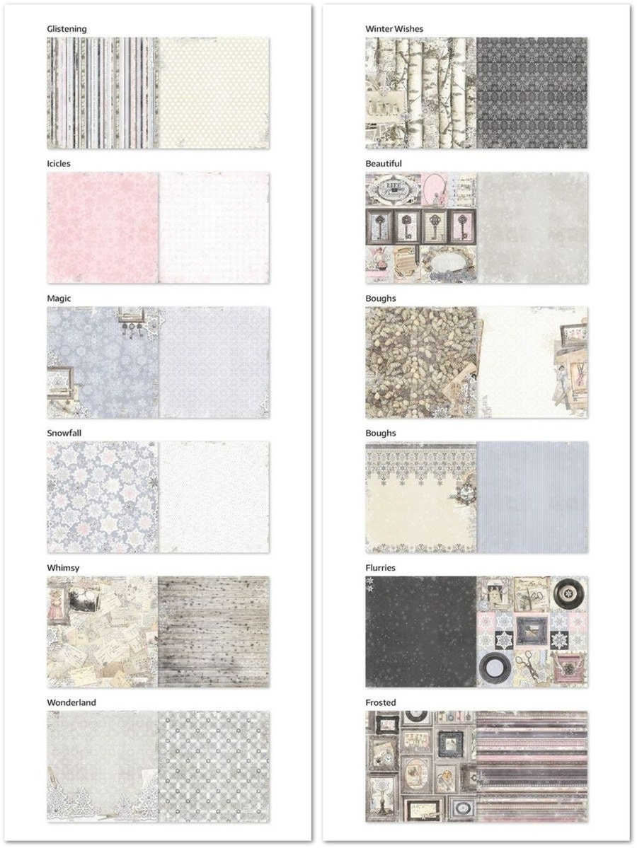 Scrapbook paper collections -  5 00
