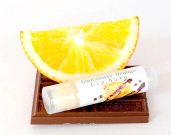 Chocolate Orange Lip Balm, Organic Lip Butter, Natural Lip Balm, Phthalate Free, Kids Lip Balm, Gift For Her, Shea Butter Lip Care