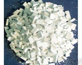 Supplies Mosaic Tiles 500 White Shades of White Broken Plates Tessera Pieces