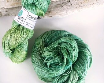 MERMAID SeaSilk Lace Yarn