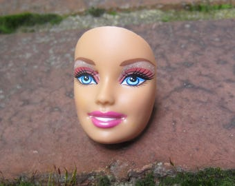 Barbie Doll Face - upcycled adjustable ring - Hh