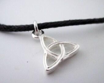 Adjustable Celtic Triquetra Knot Bracelet