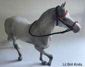 Model Horse Bridle traditional 1:9 size handmade