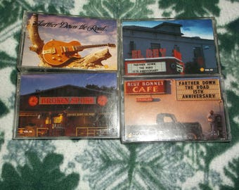 Farther Down the Road set of 4 country cassettes