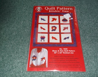 Red Hat Lady Quilt and shirt pattern