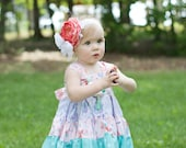 Baby Mermaid Outfit -  Baby Mermaid Top - Baby Mermaid Tunic Twirl - Baby Beach Outfit - Toddler Summer Outfit - Tunic Twirl Top - Baby