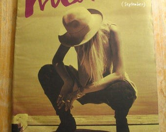 Vintage Interview Magazine-Andy Warhol-Laura Dern-Flavor Flav-Carrie Fisher-1990