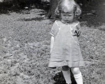 vintage photo 1922 Little Mildred Coy Sweet Cherub Cheek girl