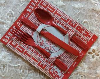 Vintage Cutie Cutlery..Play..pretend