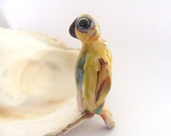 Parrot Bead Handmade Lampwork