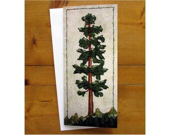 Note Cards, Blank Cards, Stationary, Any Occasion Cards, Greeting Cards, Quilt Cards, Redwood Tree