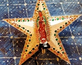 Virgin of Guadalupe Christmas Tree Topper Ook