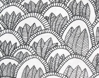 White Jungle - IKEA Tillfalle Cotton Fabric