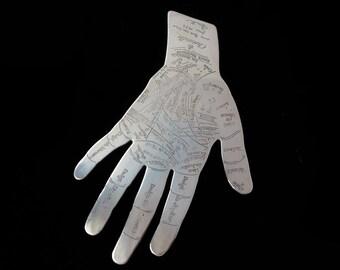 Divination Bronze Hand Palmistry