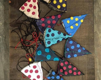 20 random leather polka dot party hats!  (wholesale with display) birthday new years costume clown geek wedding dunce halloween mardi gras
