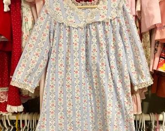Vintage Lanz Nightgown 3T