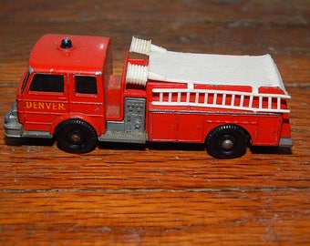 Vintage . Lesney . Matchbox Series No 29 . Fire Pumper Truck