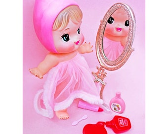 baby doll print 5 x 7 PRETTY LITTLE ME