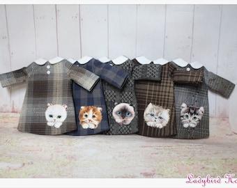 LADYBIRD HOUSE Blythe Outfit Cat Dress - C