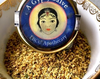 A Natural Gypsy Salve for Eczema and Bruises, Psoriasis & Eczema Salve Rosacea Cream, Dermatitis Ointment