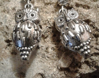 The Witches Owl Earrings