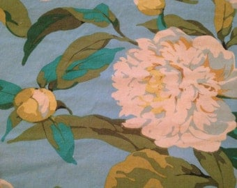 Farmington by Martha Negley for Rowan Fabrics - 7/8 Yards - Westminster Fabrics / May Peony / Farmington Fabric / Large Floral / Large Peony