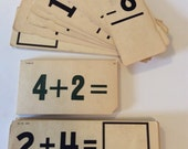 CLEARANCE SALE - Vintage Arithmetic Learning Aids Tag Supplies
