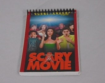 Scary Movie Original VHS Cover Notepad