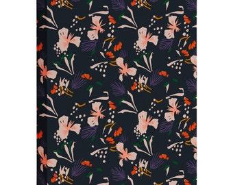 Anthology of Pattern Seville Garden Black Art Canvas