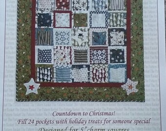 Countdown to Christmas - Advent Calendar - The Pattern Basket