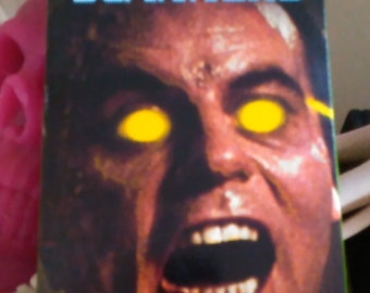 Scanners VHS tape Horror VHS Michael Ironside Stephen Lack Free Shipping
