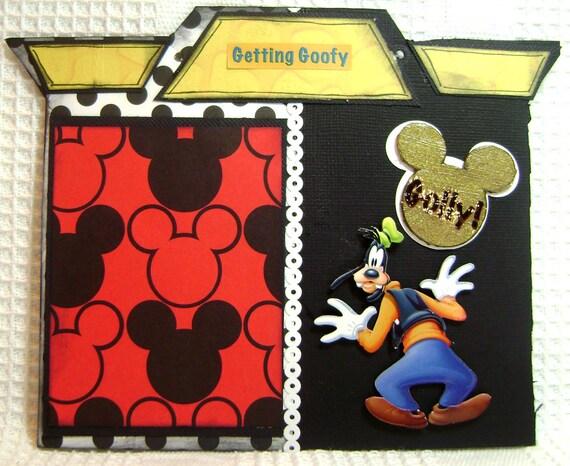 Scrapbooking Disney Album Mickey Mouse From Kitsnbitscraps