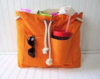 View Beach Bags by ThreadedRVA on Etsy
