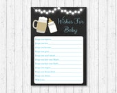 Baby Is Brewing Wishes fo...
