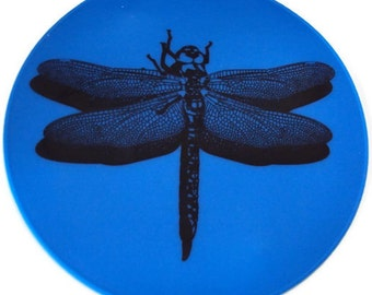 Blue Silicone Dragonfly Table Trivet Table Decor Kitchen Hot Pad Table Placemat