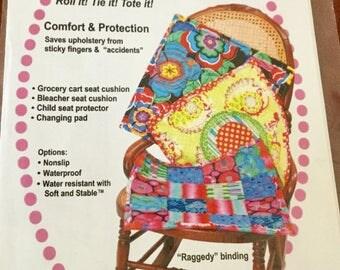Parl It Pad, Pattern, Changing pad, Bleacher seat cushion, Grocery Cart cushion, Uncut