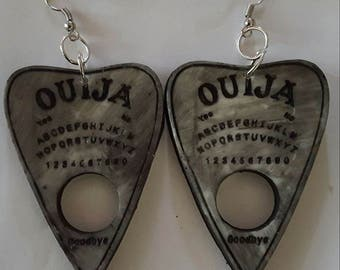 Ouija, Ouija earrings, Witch, Goth, Horror, Horror jewelry, Horror movie, Gothic, Ouija jewelry