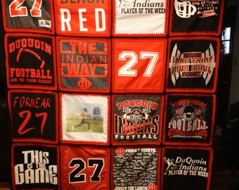 T-Shirt quilt made to order