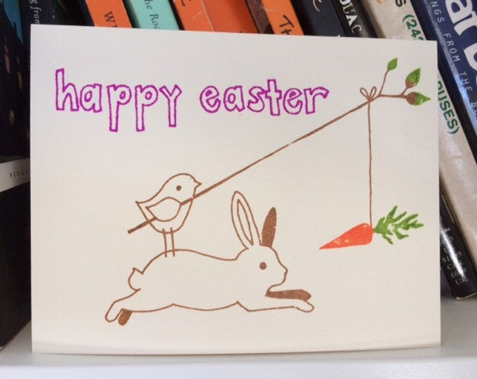 Fun with the Easter Bunny - Funny Easter Card