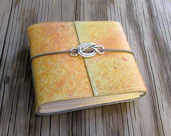 SALE forget me knot pocket journal small size journal gift under 20 - tremundo